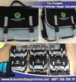 Konveksi Tas Promosi Politeknik Kesehatan Negeri Samarinda