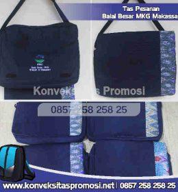 Konveksi Tas Promosi Pesnanan BMKG Makassar