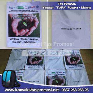 Konveksi Tas Promosi Yayasan Tiara Pusaka Maluku
