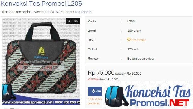 Tas Promosi Online Terbaik Di Indonesia